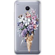 Силиконовый чехол BoxFace Meizu M5s Ice Cream Flowers (935041-rs17)