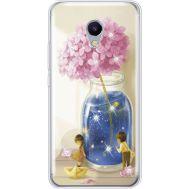 Силиконовый чехол BoxFace Meizu M5s Little Boy and Girl (935041-rs18)