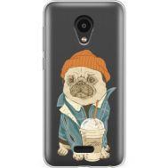 Силиконовый чехол BoxFace Meizu C9 Pro Dog Coffeeman (38754-cc70)