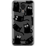 Силиконовый чехол BoxFace Meizu C9 Pro с 3D-глазками Black Kitty (38754-cc73)