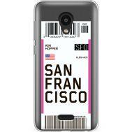 Силиконовый чехол BoxFace Meizu C9 Pro Ticket San Francisco (38754-cc79)