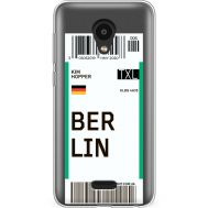 Силиконовый чехол BoxFace Meizu C9 Pro Ticket Berrlin (38754-cc80)