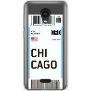 Силиконовый чехол BoxFace Meizu C9 Pro Ticket Chicago (38754-cc82)