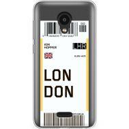 Силиконовый чехол BoxFace Meizu C9 Pro Ticket London (38754-cc83)
