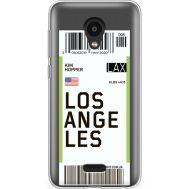 Силиконовый чехол BoxFace Meizu C9 Pro Ticket Los Angeles (38754-cc85)