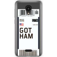 Силиконовый чехол BoxFace Meizu C9 Pro Ticket Gotham (38754-cc92)