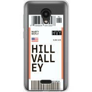 Силиконовый чехол BoxFace Meizu C9 Pro Ticket Hill Valley (38754-cc94)