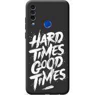 Силиконовый чехол BoxFace Meizu M10 hard times good times (40851-bk72)