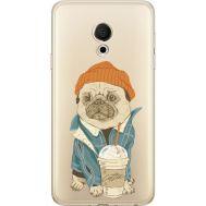 Силиконовый чехол BoxFace Meizu M15 (15 Lite) Dog Coffeeman (35007-cc70)