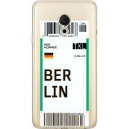 Силиконовый чехол BoxFace Meizu M15 (15 Lite) Ticket Berrlin (35007-cc80)