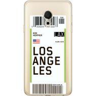 Силиконовый чехол BoxFace Meizu M15 (15 Lite) Ticket Los Angeles (35007-cc85)
