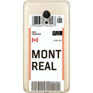 Силиконовый чехол BoxFace Meizu M15 (15 Lite) Ticket Monreal (35007-cc87)
