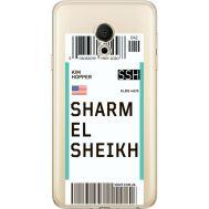 Силиконовый чехол BoxFace Meizu M15 (15 Lite) Ticket Sharmel Sheikh (35007-cc90)