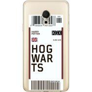 Силиконовый чехол BoxFace Meizu M15 (15 Lite) Ticket Hogwarts (35007-cc91)