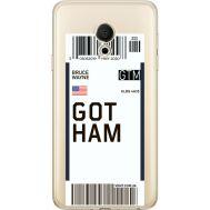 Силиконовый чехол BoxFace Meizu M15 (15 Lite) Ticket Gotham (35007-cc92)