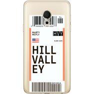 Силиконовый чехол BoxFace Meizu M15 (15 Lite) Ticket Hill Valley (35007-cc94)