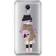 Силиконовый чехол BoxFace Meizu M5 Note Winter Morning Girl (35009-cc61)