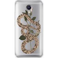 Силиконовый чехол BoxFace Meizu M5 Note Glamor Snake (35009-cc67)