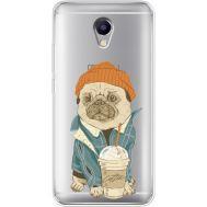 Силиконовый чехол BoxFace Meizu M5 Note Dog Coffeeman (35009-cc70)