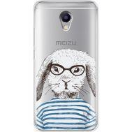Силиконовый чехол BoxFace Meizu M5 Note MR. Rabbit (35009-cc71)