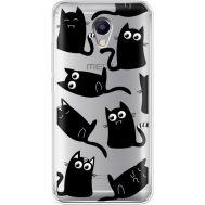 Силиконовый чехол BoxFace Meizu M5 Note с 3D-глазками Black Kitty (35009-cc73)