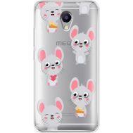 Силиконовый чехол BoxFace Meizu M5 Note с 3D-глазками Mouse (35009-cc76)