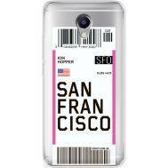 Силиконовый чехол BoxFace Meizu M5 Note Ticket San Francisco (35009-cc79)