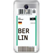 Силиконовый чехол BoxFace Meizu M5 Note Ticket Berrlin (35009-cc80)
