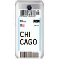 Силиконовый чехол BoxFace Meizu M5 Note Ticket Chicago (35009-cc82)