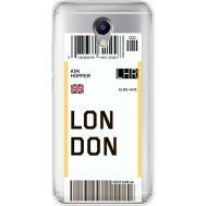 Силиконовый чехол BoxFace Meizu M5 Note Ticket London (35009-cc83)