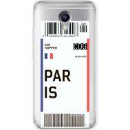 Силиконовый чехол BoxFace Meizu M5 Note Ticket Paris (35009-cc86)