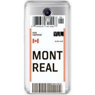 Силиконовый чехол BoxFace Meizu M5 Note Ticket Monreal (35009-cc87)