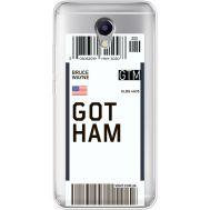 Силиконовый чехол BoxFace Meizu M5 Note Ticket Gotham (35009-cc92)