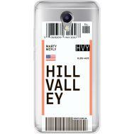 Силиконовый чехол BoxFace Meizu M5 Note Ticket Hill Valley (35009-cc94)