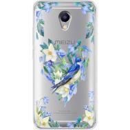Силиконовый чехол BoxFace Meizu M5 Note Spring Bird (35009-cc96)
