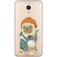 Силиконовый чехол BoxFace Meizu M6 Dog Coffeeman (35010-cc70)