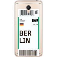 Силиконовый чехол BoxFace Meizu M6 Ticket Berrlin (35010-cc80)