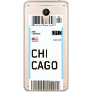 Силиконовый чехол BoxFace Meizu M6 Ticket Chicago (35010-cc82)