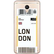 Силиконовый чехол BoxFace Meizu M6 Ticket London (35010-cc83)