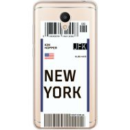 Силиконовый чехол BoxFace Meizu M6 Ticket New York (35010-cc84)