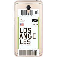 Силиконовый чехол BoxFace Meizu M6 Ticket Los Angeles (35010-cc85)