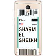 Силиконовый чехол BoxFace Meizu M6 Ticket Sharmel Sheikh (35010-cc90)