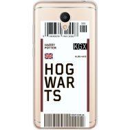 Силиконовый чехол BoxFace Meizu M6 Ticket Hogwarts (35010-cc91)