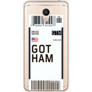 Силиконовый чехол BoxFace Meizu M6 Ticket Gotham (35010-cc92)
