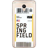 Силиконовый чехол BoxFace Meizu M6 Ticket Springfield (35010-cc93)