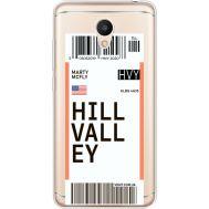 Силиконовый чехол BoxFace Meizu M6 Ticket Hill Valley (35010-cc94)