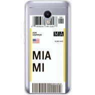 Силиконовый чехол BoxFace Meizu M5s Ticket Miami (35041-cc81)