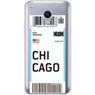 Силиконовый чехол BoxFace Meizu M5s Ticket Chicago (35041-cc82)