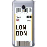 Силиконовый чехол BoxFace Meizu M5s Ticket London (35041-cc83)