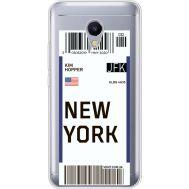 Силиконовый чехол BoxFace Meizu M5s Ticket New York (35041-cc84)